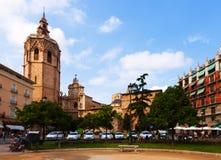 Plaza de Λα Reina Ισπανία Βαλέντσια Στοκ φωτογραφία με δικαίωμα ελεύθερης χρήσης