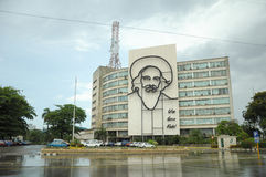 Plaza de Λα Revolucion στην Αβάνα, Κούβα Στοκ Φωτογραφίες
