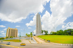 Plaza de Λα Revolucion στην Αβάνα, Κούβα Στοκ εικόνα με δικαίωμα ελεύθερης χρήσης