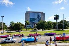Plaza de Λα Revolucion, Biblioteca Nacional de Κούβα Στοκ φωτογραφία με δικαίωμα ελεύθερης χρήσης