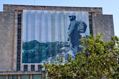 Plaza de Λα Revolucion, Biblioteca Nacional de Κούβα Jose Marti Στοκ φωτογραφία με δικαίωμα ελεύθερης χρήσης