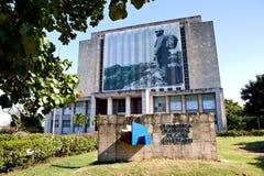 Plaza de Λα Revolucion, Biblioteca Nacional de Κούβα Jose Marti Στοκ Εικόνες