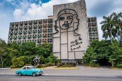 Plaza de Λα Revolution, Αβάνα, Κούβα Στοκ φωτογραφίες με δικαίωμα ελεύθερης χρήσης