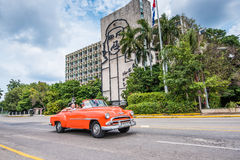Plaza de Λα Revolution, Αβάνα, Κούβα Στοκ Εικόνες