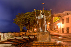 Plaza de Λα Rogativa, το παλαιό San Juan, Πουέρτο Ρίκο Στοκ φωτογραφία με δικαίωμα ελεύθερης χρήσης