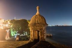Plaza de Λα Rogativa - το παλαιό San Juan, Πουέρτο Ρίκο Στοκ φωτογραφία με δικαίωμα ελεύθερης χρήσης