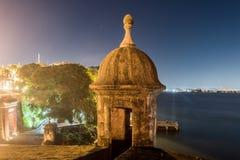 Plaza de Λα Rogativa - το παλαιό San Juan, Πουέρτο Ρίκο Στοκ Φωτογραφίες