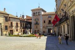Plaza de Λα Villa, Μαδρίτη Στοκ Εικόνες
