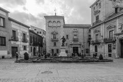 Plaza de Λα Villa, στη Μαδρίτη Στοκ φωτογραφία με δικαίωμα ελεύθερης χρήσης