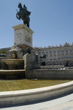 plaza de Μαδρίτη oriente Στοκ εικόνες με δικαίωμα ελεύθερης χρήσης