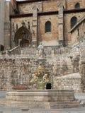 Plaza de Σάντα Μαρία, Burgos (Ισπανία) Στοκ Φωτογραφίες