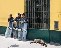 Plaza de Armas, Λίμα, Περού Στοκ Εικόνα
