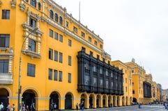 Plaza de Armas, Λίμα Στοκ Εικόνα