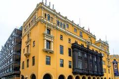 Plaza de Armas, Λίμα Στοκ φωτογραφία με δικαίωμα ελεύθερης χρήσης