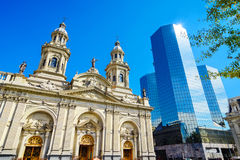 Plaza de Armas, Σαντιάγο de Χιλή, Χιλή Στοκ εικόνα με δικαίωμα ελεύθερης χρήσης