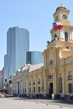 Plaza de Armas. Σαντιάγο de Χιλή. Στοκ εικόνες με δικαίωμα ελεύθερης χρήσης