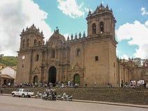 Plaza de Armas σε Cusco Περού Στοκ φωτογραφίες με δικαίωμα ελεύθερης χρήσης