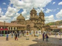 Plaza de Armas σε Cusco Περού Στοκ εικόνες με δικαίωμα ελεύθερης χρήσης