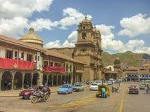 Plaza de Armas σε Cusco Περού Στοκ Φωτογραφίες