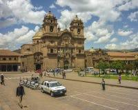 Plaza de Armas σε Cusco Περού Στοκ Εικόνες