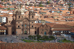 Plaza de Armas σε Cusco Στοκ Φωτογραφία