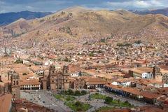 Plaza de Armas σε Cusco Στοκ Εικόνες