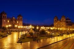 Plaza de Armas σε Cuzco, Περού Στοκ Εικόνες