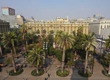 Plaza de Armas στο Σαντιάγο de Χιλή Στοκ Φωτογραφία