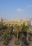 Plaza de Armas στο Σαντιάγο de Χιλή Στοκ Φωτογραφίες