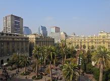 Plaza de Armas στο Σαντιάγο de Χιλή Στοκ εικόνες με δικαίωμα ελεύθερης χρήσης