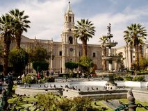 Plaza de armas Royalty Free Stock Images