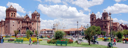 Plaza de Armas Immagine Stock
