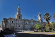 Plaza de Armas - Arequipa, Περού Στοκ Φωτογραφίες