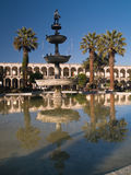 Plaza De Armas in Arequipa Stockbilder