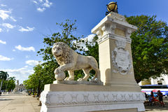 Plaza de Armas - Cienfuegos, Cuba Royalty Free Stock Image