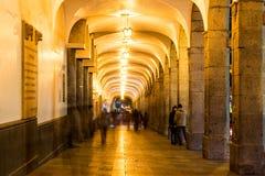 Plaza de Armas Cloisters Στοκ Φωτογραφίες