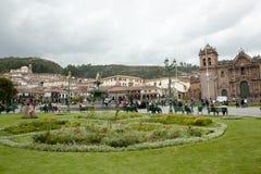 Plaza de Armas - Cusco - Περού Στοκ φωτογραφία με δικαίωμα ελεύθερης χρήσης