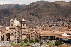 Plaza de Armas - Cusco - Περού Στοκ Εικόνες