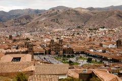 Plaza de Armas - Cusco - Περού Στοκ Φωτογραφία