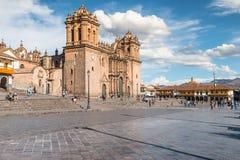 Plaza de Armas, Cusco, Περού Στοκ φωτογραφία με δικαίωμα ελεύθερης χρήσης
