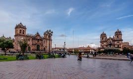 Plaza de Armas, Cusco, Περού Στοκ Εικόνα