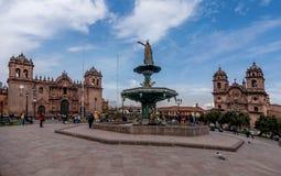 Plaza de Armas, Cusco, Περού Στοκ Φωτογραφίες