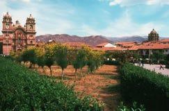 Plaza de Armas, Cusco Royalty Free Stock Photo