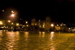 Plaza de Armas of Cusco Royalty Free Stock Photos