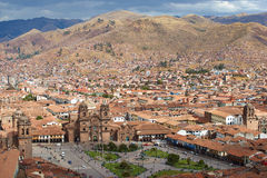 Plaza de Armas in Cusco Stock Photo