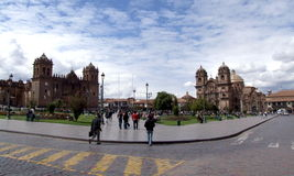 Plaza de Armas, Cusco, Pérou Photographie stock