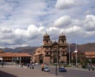 Plaza DE Armas, Cusco, Peru Royalty-vrije Stock Afbeeldingen