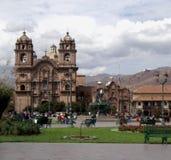 Plaza DE Armas, Cusco, Peru Royalty-vrije Stock Afbeelding