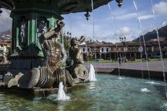 Plaza de Armas, Cusco, Peru Stockfoto