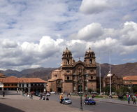 Plaza de Armas, Cusco, Peru. Busy, bustling and historic square Plaza de Armas, Cusco, Peru Royalty Free Stock Images